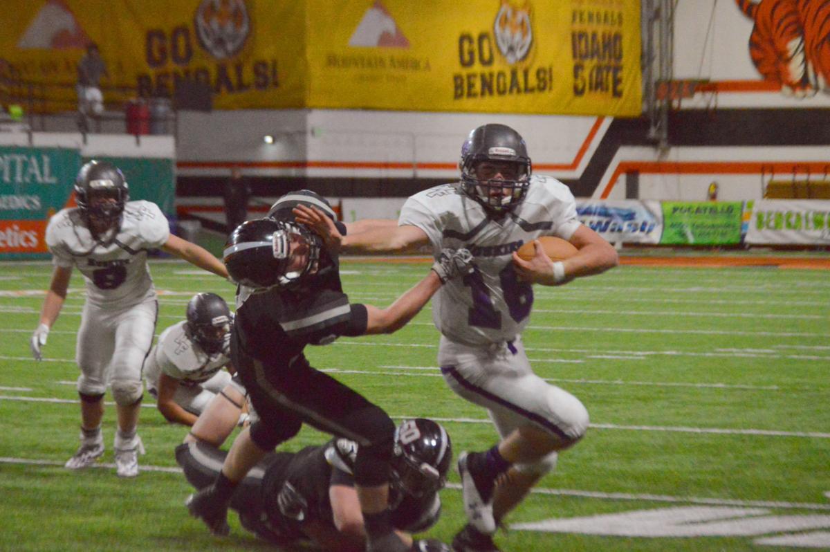 Garrett Hawkes football title game