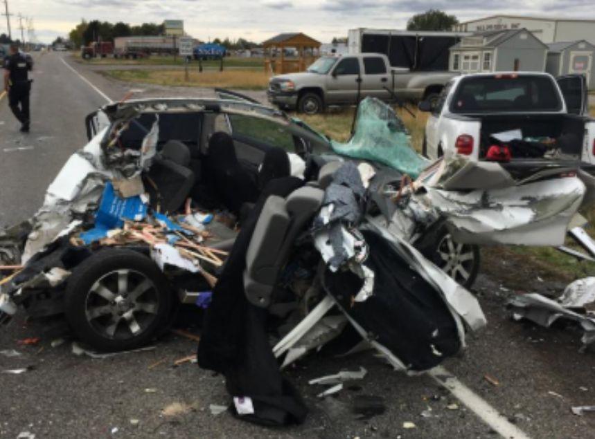 Highway 91 wreck