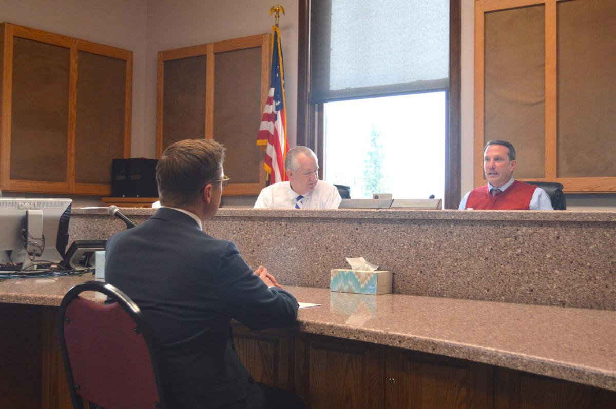 commissioners meet with byui