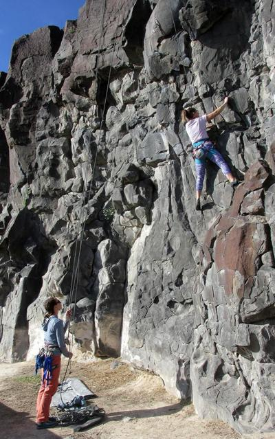 Get outdoor time at Pocatello's Ross Park climbing area