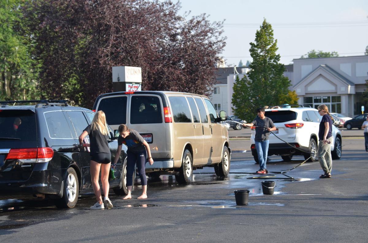 Madison High School Music Program holds car wash