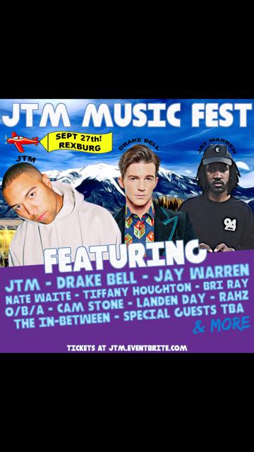 JTM Music Festival scheduled for Sept. 27