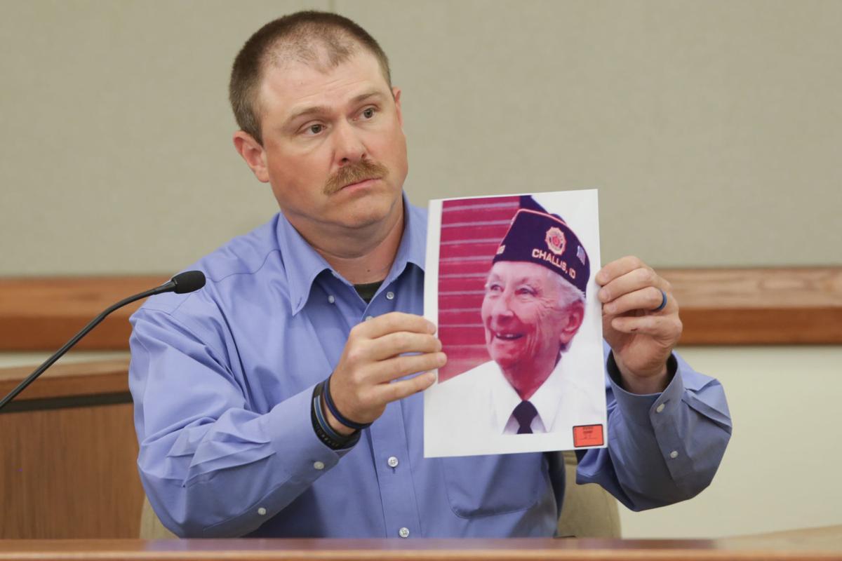 Mark Wilson maydole testifying