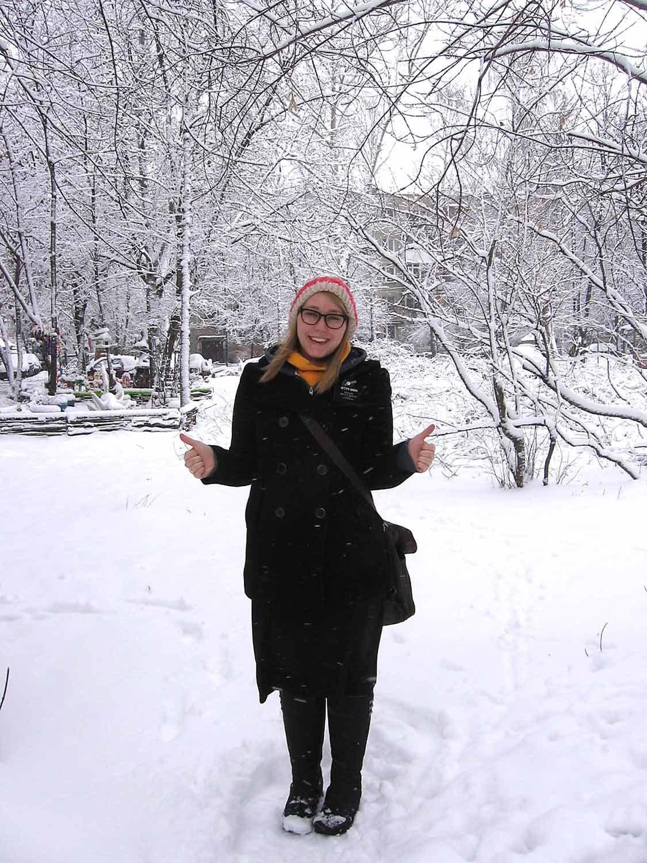 Jessie Bruner in Nizhny Novgorod