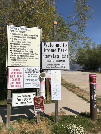 Frome Park entrance