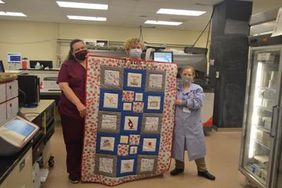 Hospital quilt