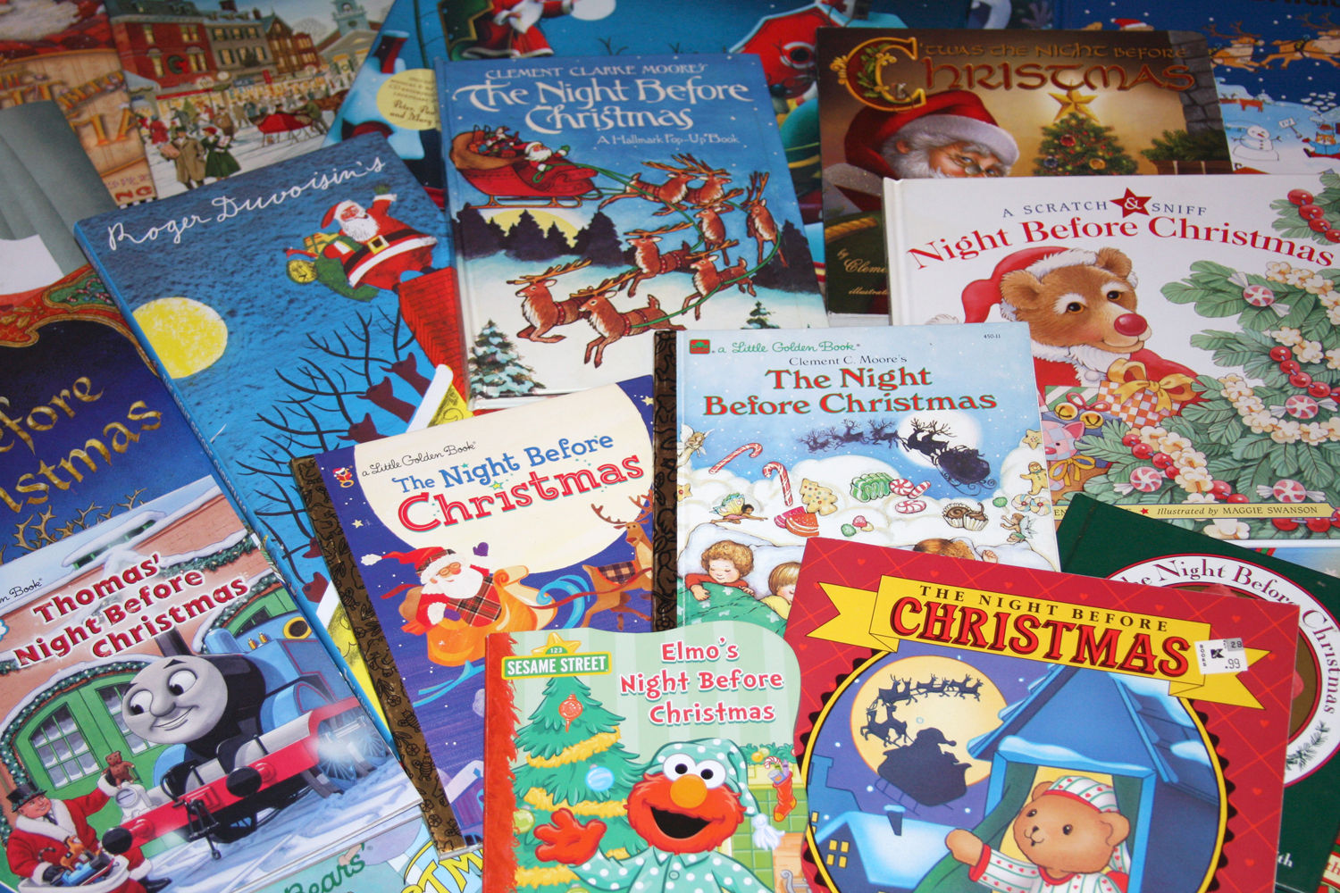 Up on the rooftop: Rexburg book collector can't resist Santa books ...