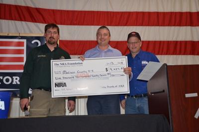 NRA donating $