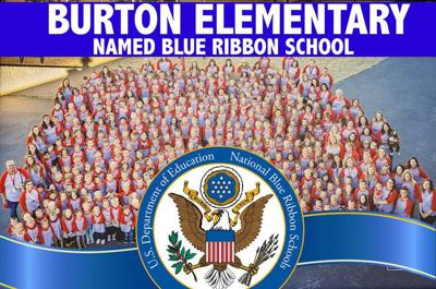 Burton Elementary School receives National Blue Ribbon award