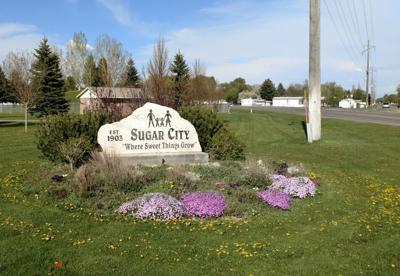 Sugar City sign