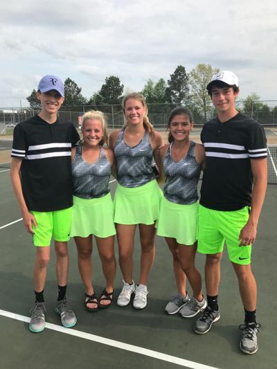 Rhea tennis advances to regionals