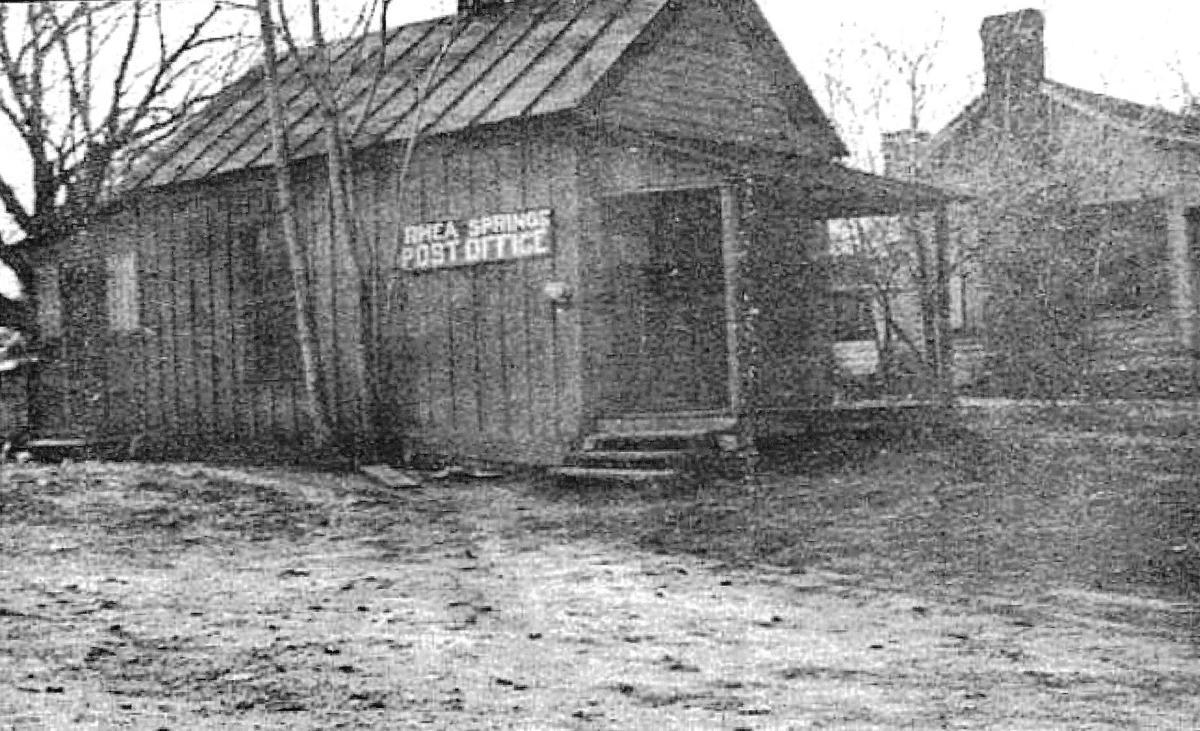 Rhea Springs Post office