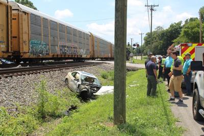 Train, vehicle collision