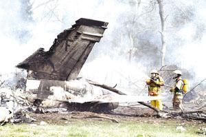 Navy fighter jet crashes