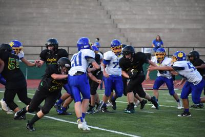 RMS EAGLES FALL, DESPITE COMEBACK