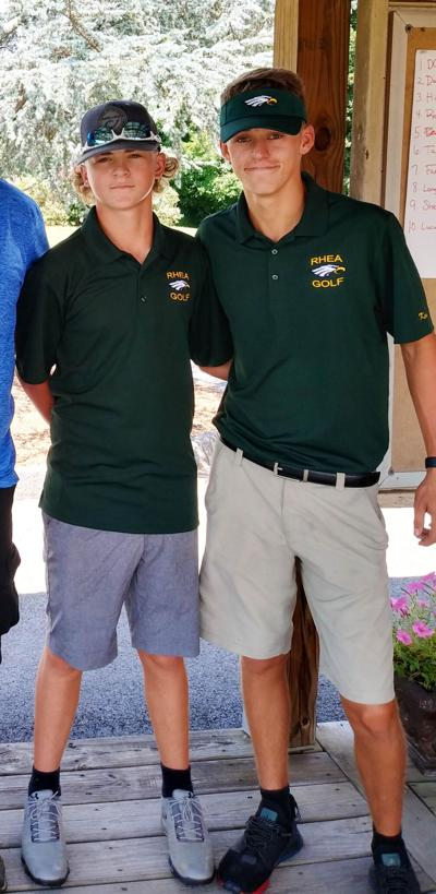 BROTHER GOLFING DUO REPRESENT THE RCHS EAGLES AT CITY INVITE