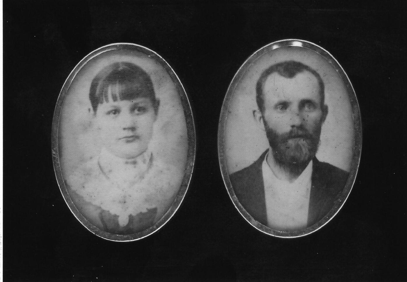 Robert Lewis Thomison and wife, Callie Greer Thomison