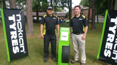 Nokian Tyres unveils first test tire from Dayton factory