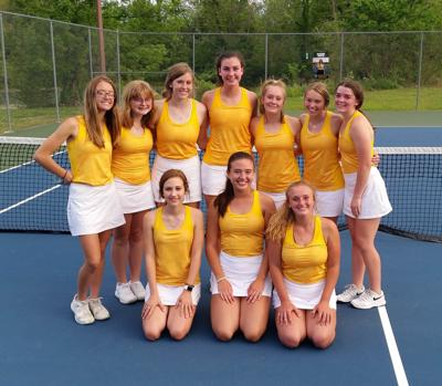 LADY EAGLE TENNIS FINISHES 6-AAA RUNNER-UP
