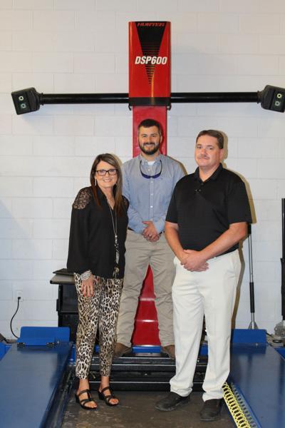 CTE department receives alignment system
