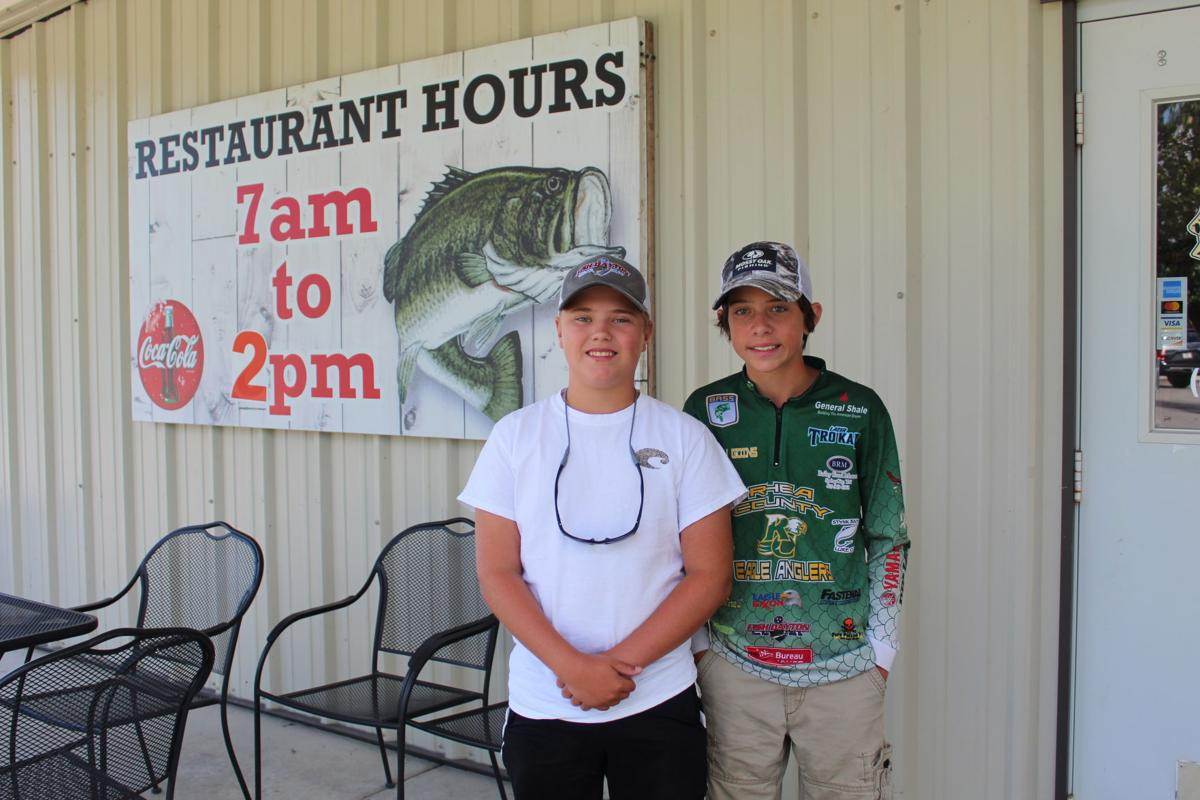 Rising freshmen anglers win first place in Bassmaster tourney