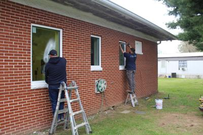 New windows installed at library