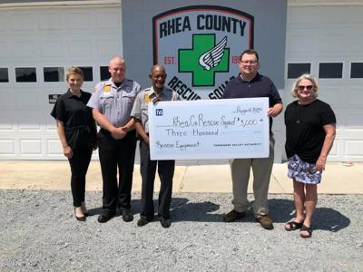 Rescue Squad donation