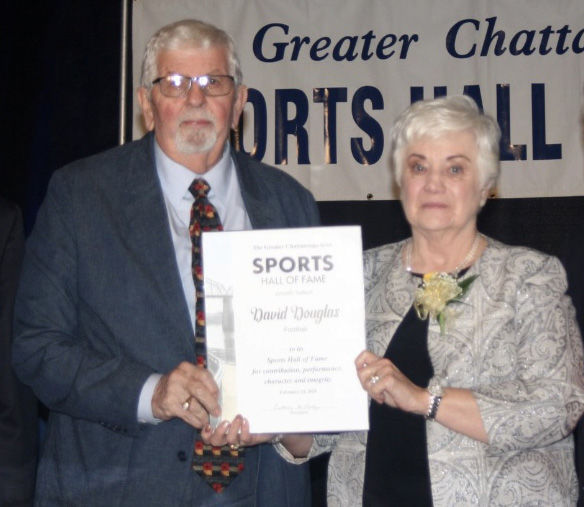 DOUGLAS INDUCTED INTO GREATER CHATTANOOGA SPORTS HALL OF FAME