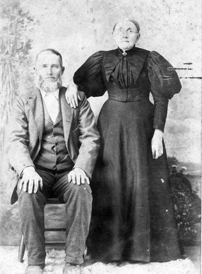 William Gibbs Allen with wife, Mary Elizabeth Thomison Allen