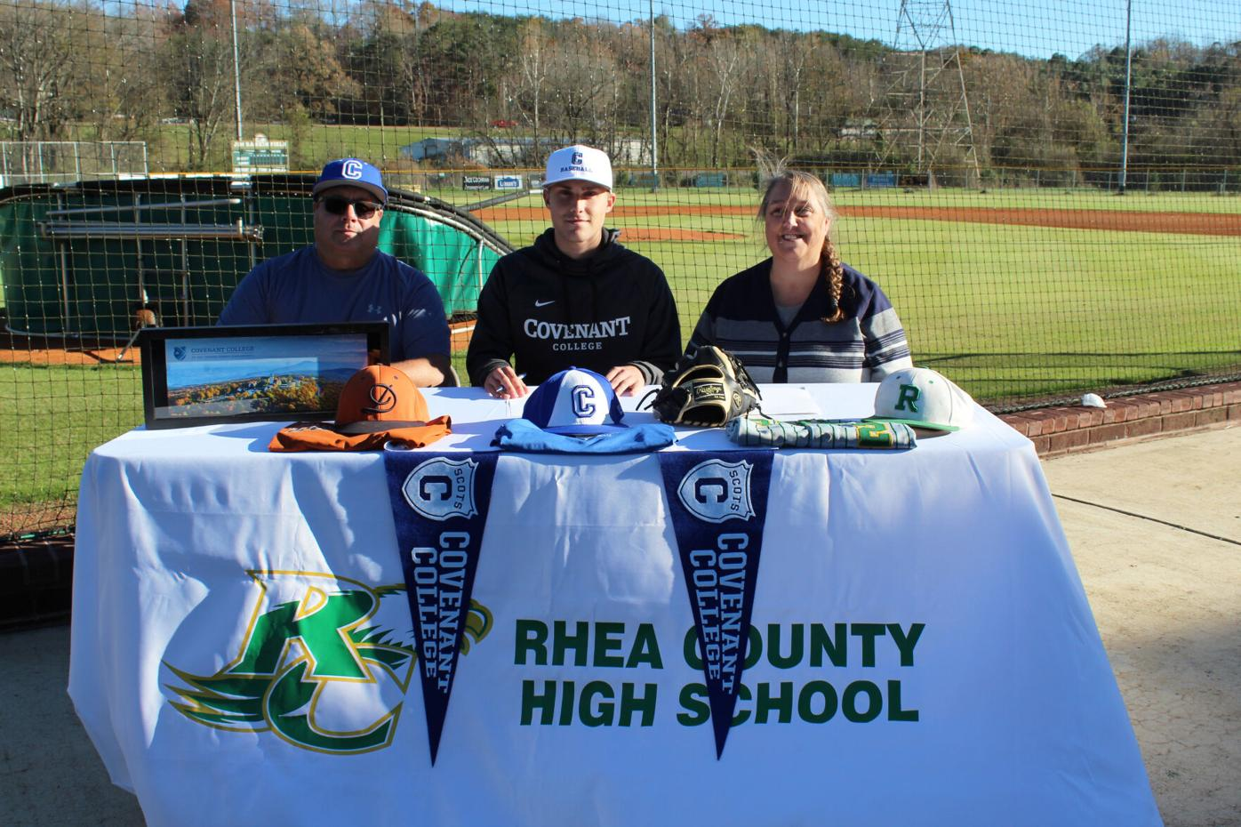 THREE RCHS BASEBALL PLAYERS INK PAPERS