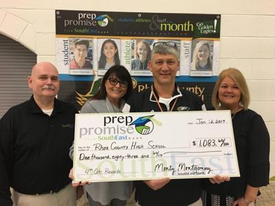 Rhea Co. High School earns $1k in rewards through SouthEast Bank's Prep Promise