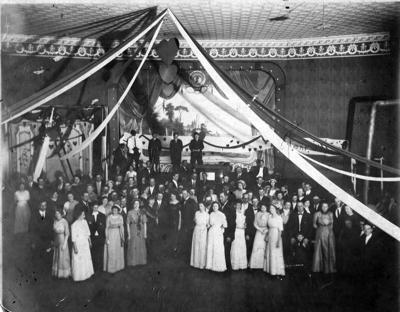 Dayton Opera House Valentine Dance of 1912