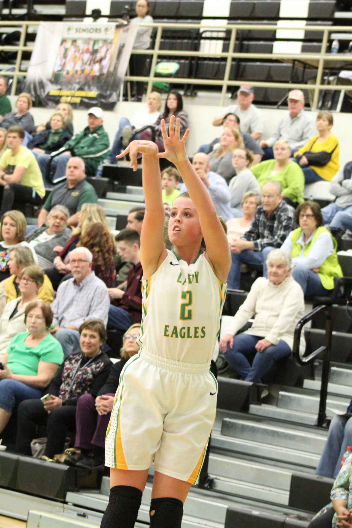 Lady Eagles rout White County in regular season finale
