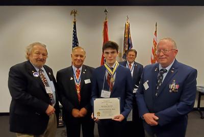 Jacob Reed awarded