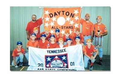 WORLD SERIES BOUND! Dayton Dixie Youth All-Stars win state