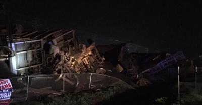 Train derails in Spring City