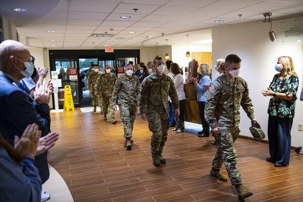 'What a dilemma this is:' National Guard arrives at Baptist Health Richmond due to high COVID-19 cases