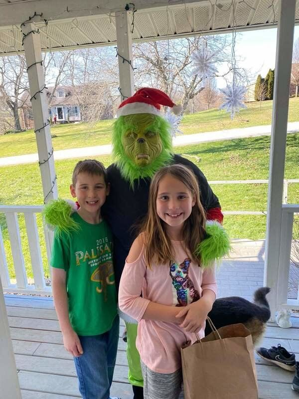 The Grinch comes to Madison County