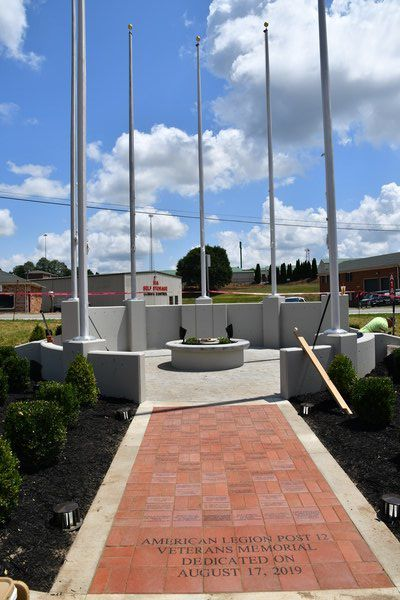 Veterans memorial nears completion