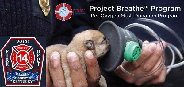 Waco Volunteer Fire/Rescue receives pet oxygen mask donation