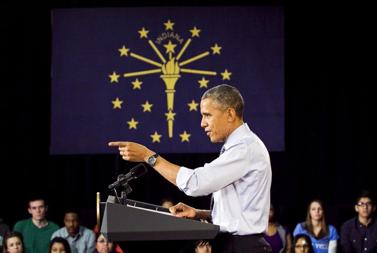 Obama details college plan during Ivy Tech visit