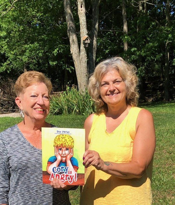 Former librarian and art teacher author children's book