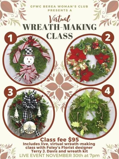 GFWC Berea Club to raise money in virtual wreath-making class