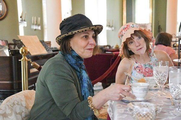 PHOTOS: Tea at White Hall