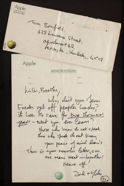 Letter from john lennon