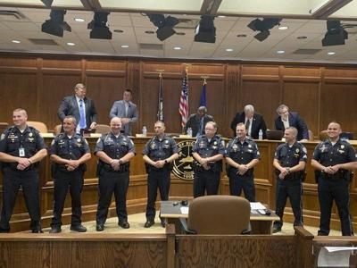 Commission promotes first responders