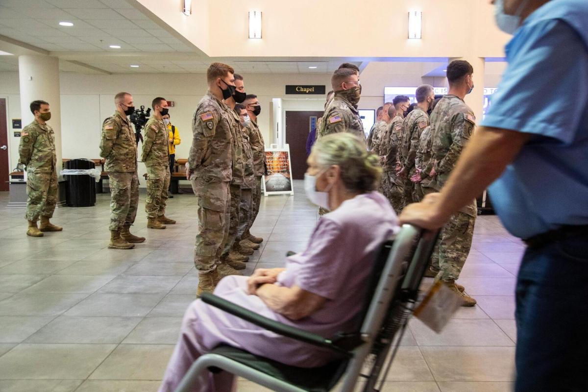 guard covid hospital