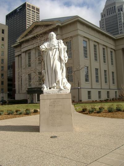 King Louis Statue