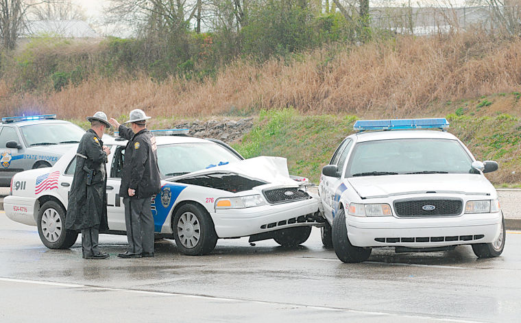 3 cruisers, 2 wrecks, one day : Accidents plague Richmond Police