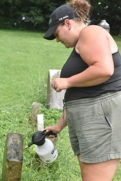 Preserving History: Old Soldiers Cemetery sees revitalization of gravestones